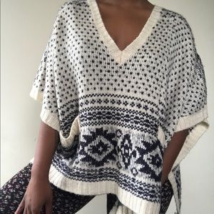 Forever 21 knit poncho